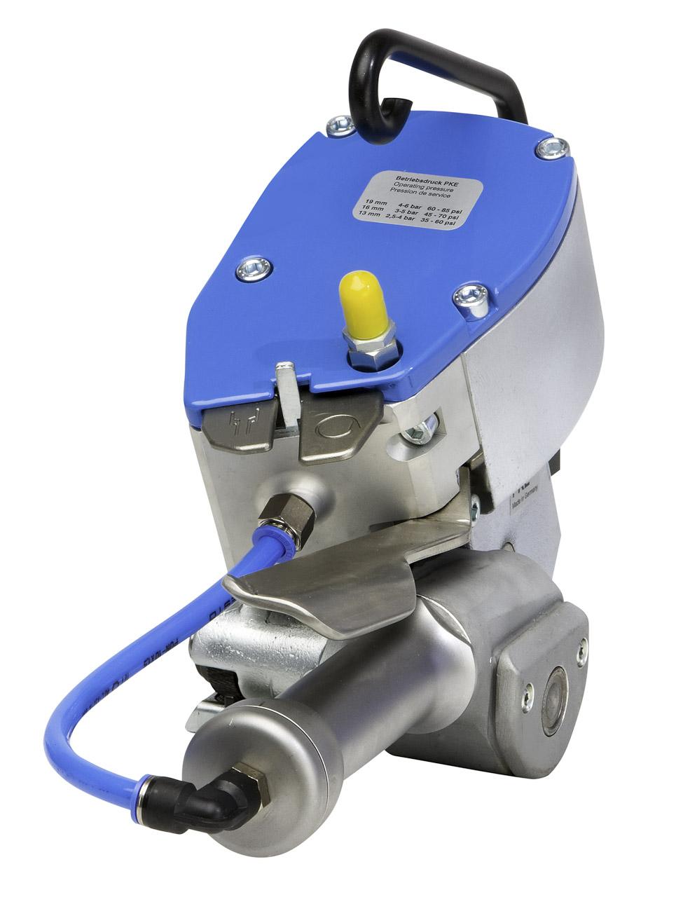 Maquina de Cintar com fita de aço pneumática PKE