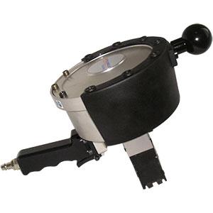Maquina de cintar fita de aço com união STP-DN 19/32