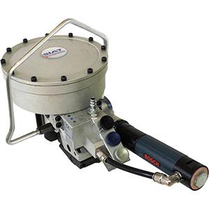 Maquina de cintar fita de aço com união STS 25 & 32 PLUS 4